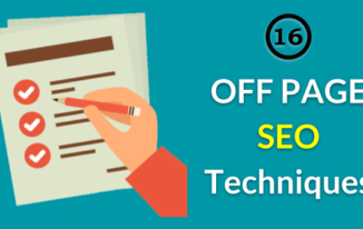 16 Off-Page SEO Techniques You Can Use in 2018
