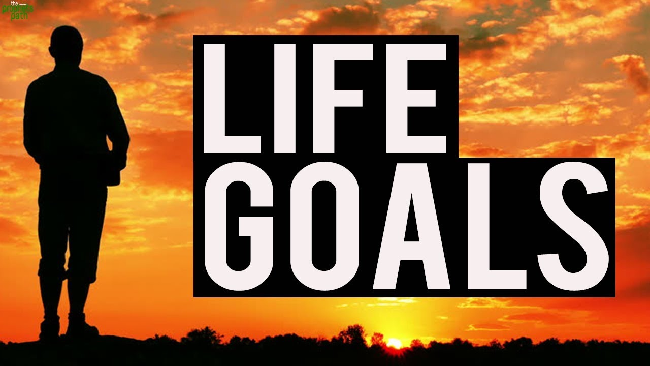 What type of goals generally people do have?