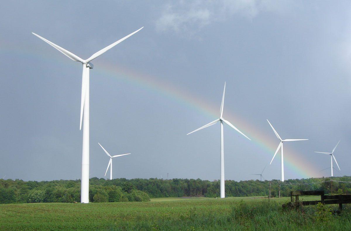 Wind energy working mechanism